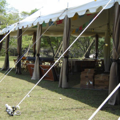 Pole Tent Staked