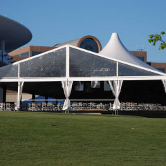 Losberger Tent with Dome
