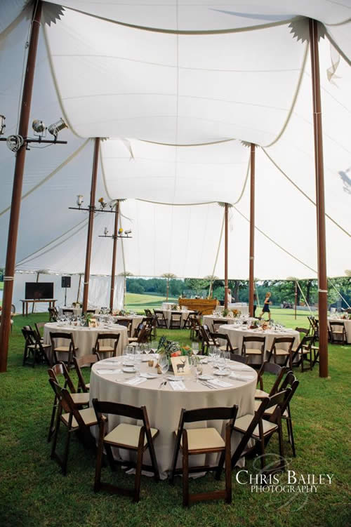 stretch tent décor ideas